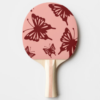 butterfly pattern 3 ping pong paddle