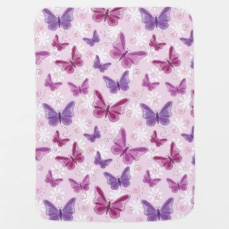 butterfly pattern baby blanket