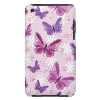 butterfly pattern barely there iPod cover