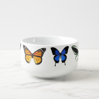 Butterfly Pattern Bowl
