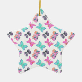 Butterfly Pattern Christmas Ornament