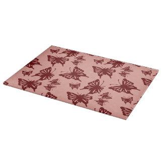 butterfly pattern cutting board
