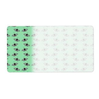 Butterfly Pattern. Green.