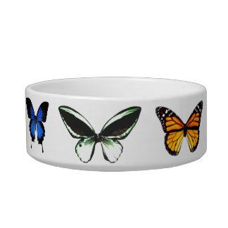 Butterfly Pattern Pet Bowl