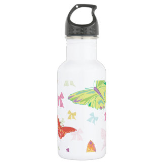 Butterfly pattern 532 ml water bottle