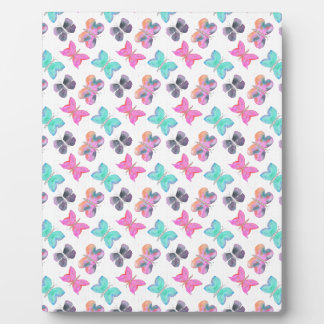 Butterfly Pattern Plaque