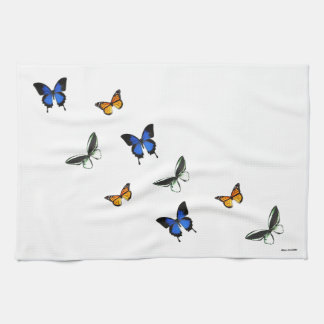 Butterfly Patterned Kitchen Towel