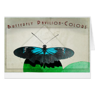 Butterfly Pavilion - Colors Greeting Card