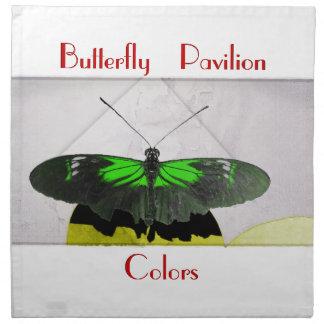 Butterfly Pavilion - Colors - Knapkin Printed Napkin