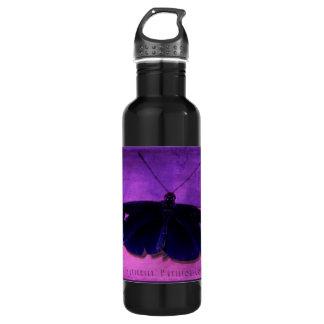 Butterfly Pavilion - Colors - Purple - Waterbottle 710 Ml Water Bottle