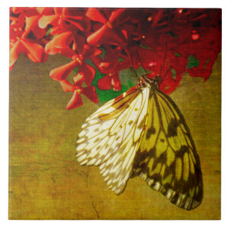 Butterfly Pavilion - Paper Kite - Art Tile