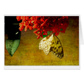 Butterfly Pavilion - Paper Kite Greeting Card