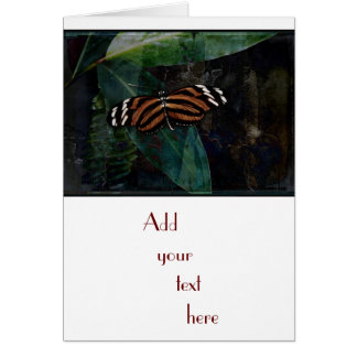 Butterfly Pavilion - Tygre Greeting Card