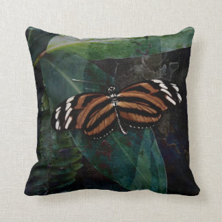Butterfly Pavilion - Tygre Throw Pillow Cushion