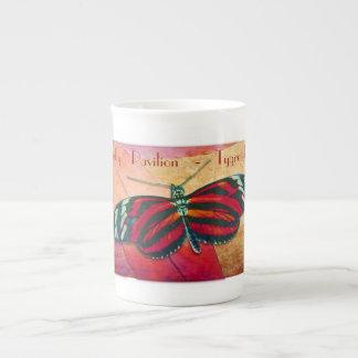 Butterfly Pavilion - Tygre Tygre - Bone Chia Cup Bone China Mug