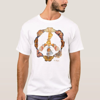 butterfly peace sign T-Shirt
