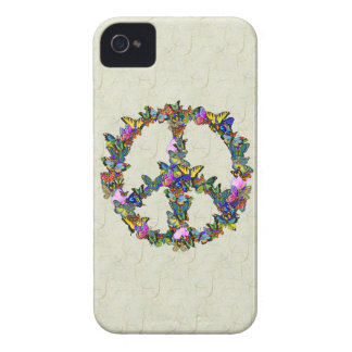 Butterfly Peace Symbol Case-Mate iPhone 4 Case