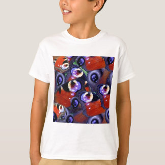 butterfly peacock feathers T-Shirt