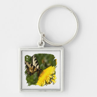 Butterfly Perch Key Chains