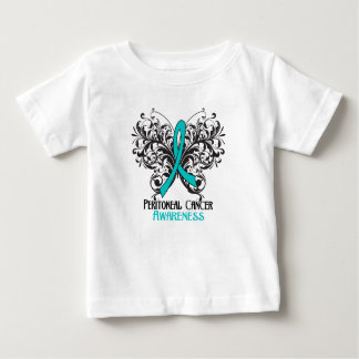 Butterfly Peritoneal Cancer Awareness Tee Shirts