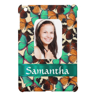Butterfly personalized photo template iPad mini covers