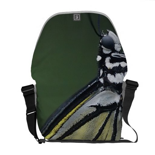 Butterfly Pic Courier Bag