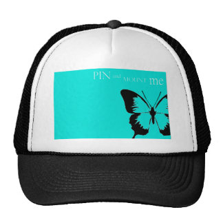 Butterfly pin and mount cap