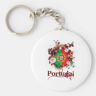 Butterfly Portugal Key Ring