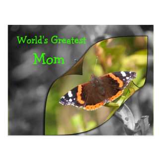 Butterfly Postcard for Mothers day