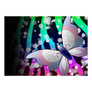 Butterfly poster (customizable!)