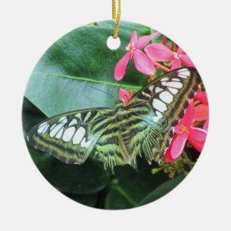 Butterfly - Prairie Mile Hideaway Round Ceramic Decoration