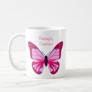 Butterfly Pretty Pink Purple Basic White Mug