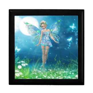 Butterfly Princess Large Square Gift Box