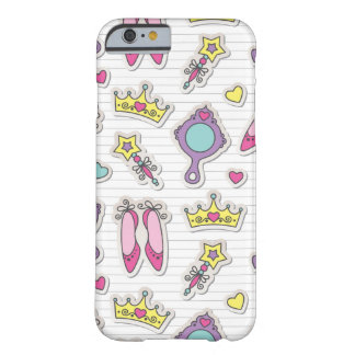 butterfly princess pattern barely there iPhone 6 case