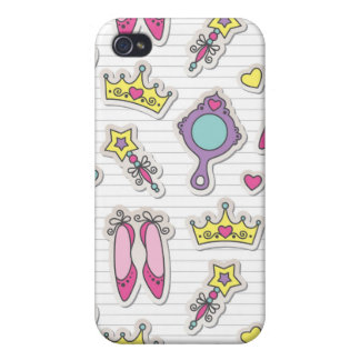 butterfly princess pattern case for iPhone 4