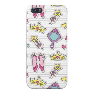 butterfly princess pattern iPhone 5/5S covers