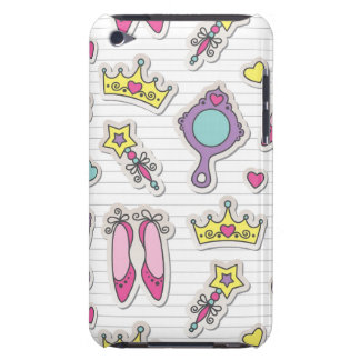 butterfly princess pattern iPod touch Case-Mate case