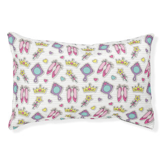 butterfly princess pattern pet bed