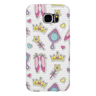butterfly princess pattern samsung galaxy s6 cases