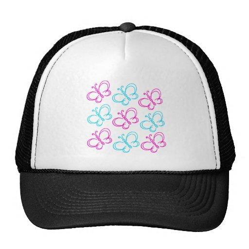 Butterfly Print Hat