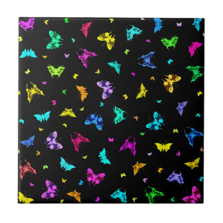 Butterfly Print Tiles