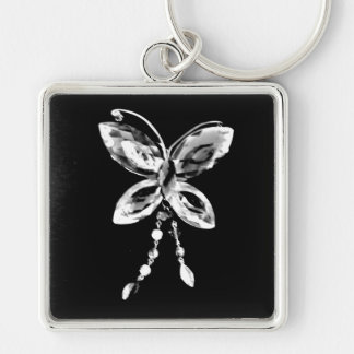 Butterfly Prism Key Ring
