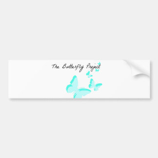 Butterfly Project Bumper Sticker