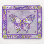 butterfly quilt mouse pad