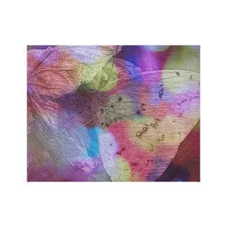 Butterfly Rainbow Canvas Art
