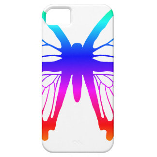 Butterfly - Rainbow iPhone 5 Cover