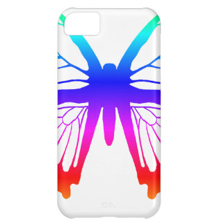 Butterfly - Rainbow Cover For iPhone 5C