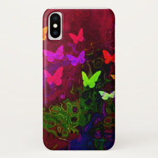 Butterfly Rainbow iPhone X Case