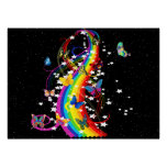 Butterfly Rainbow Print