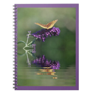 Butterfly Reflections Notebook